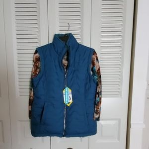 GORGEOUSFREE COUNTRY NWT reversible vest Sz M